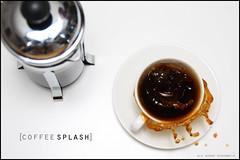 CoffeeSplash - from up above (Ole Andre Skarbvik) Tags: coffee drops coffeecup drop splash spill splashes freezingmotion coffeesplash