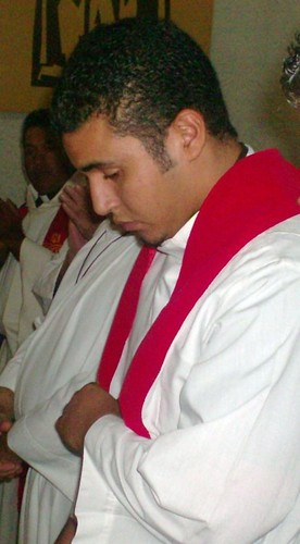 Sergio at his ordination