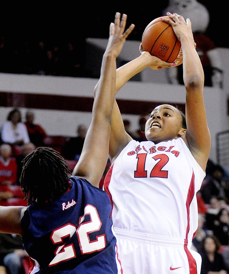 Mississippi Georgia Basketball