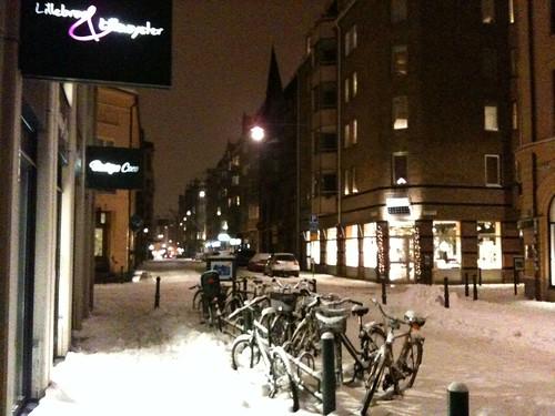 Malmö in snow