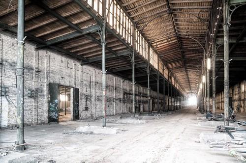 Rinderverkausfhalle