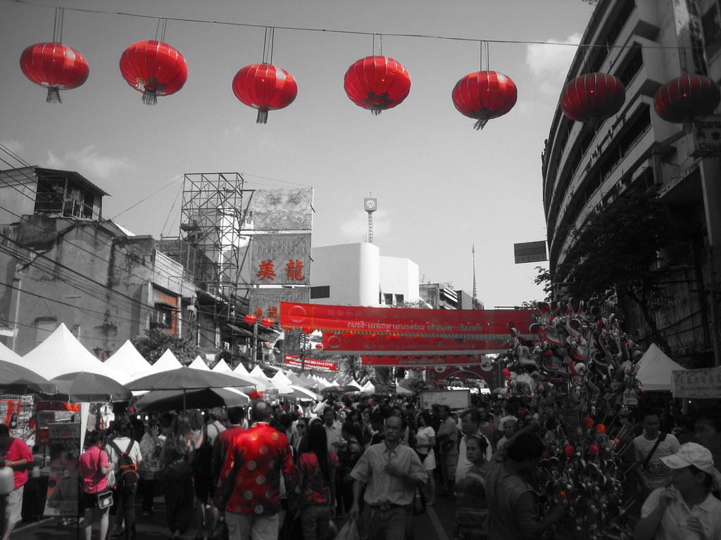 Nouvel an chinois à Bangkok