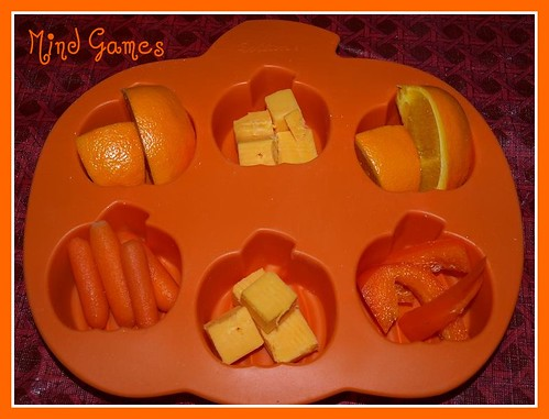 Muffin Tin: Orange