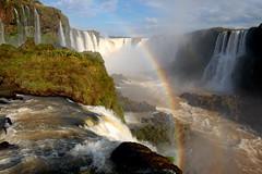Iguazu Falls (Brazil Side) (Mike & Tricia) Tags: brazil fall water waterfall rainbow falls iguazu