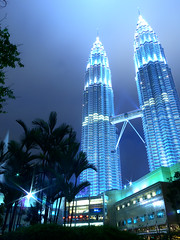 KualaLumpur008 (Kosei.S) Tags: world trip travel light building night nikon asia malaysia around kuala d200 lumpur the