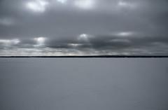 Frozen Vombsjön lake in Sweden (Barend_) Tags: lake meer sweden frozenlake zweden vombsjön svenska bevrorenmeer
