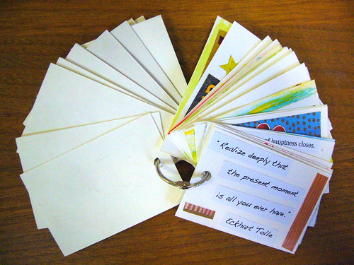 How To Create Affirmation Cards On The Go Abundance