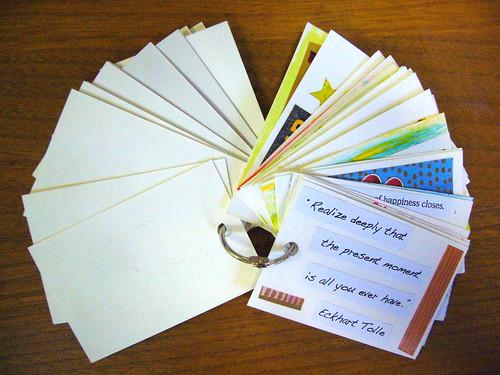 How To Create Affirmation Cards On The Go Abundance Life