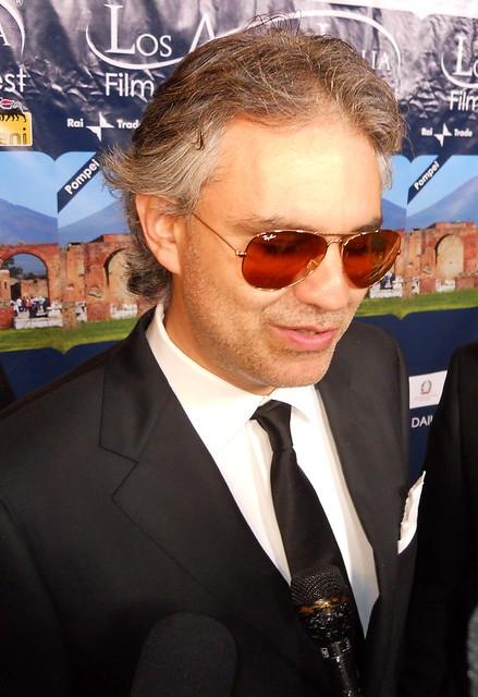 Andrea Bocelli, LA Italia Film Festival