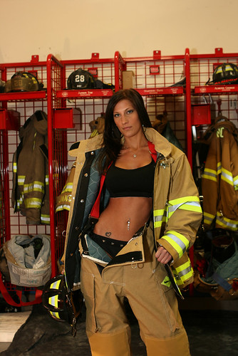 firefighter calendar girls. Sexy Firefighter Calendar Girl