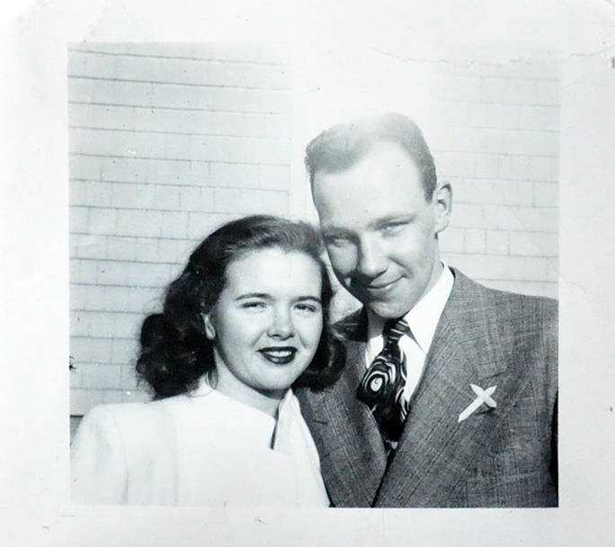 grandma and grandpa late 1940s