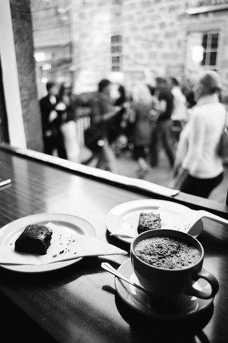 Coffee And Cake Ilford Xp2 Super Is What It Says