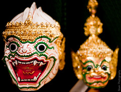Thai Khon Hanuman Masque