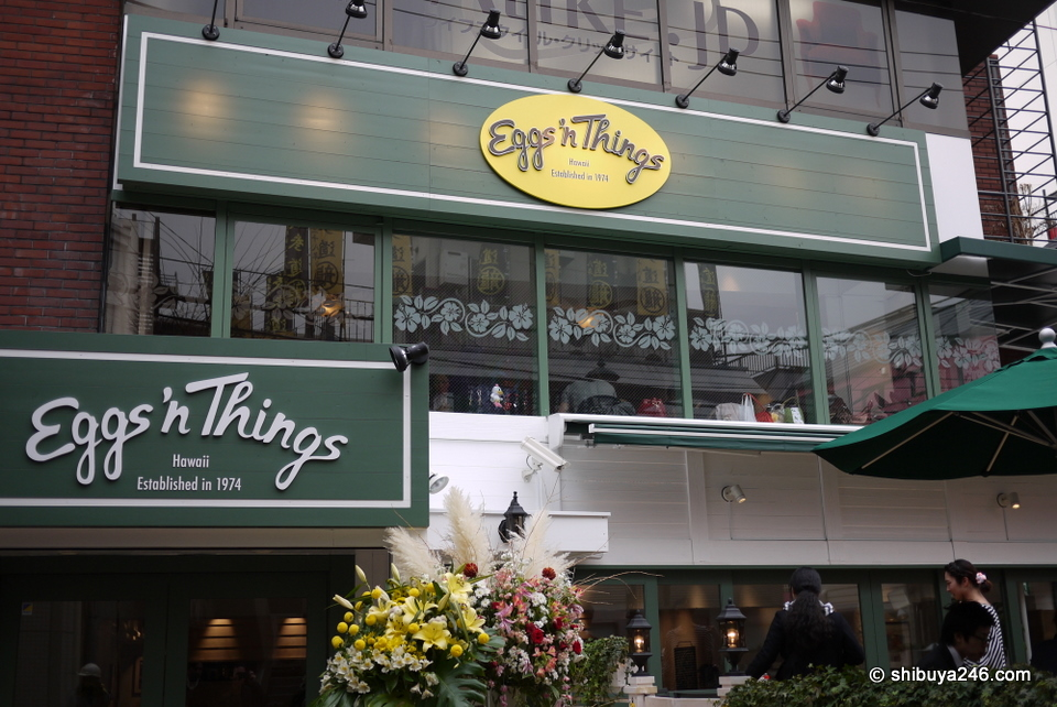 The new EggsnThings store in Harajuku