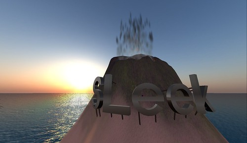 sleek beach in second life