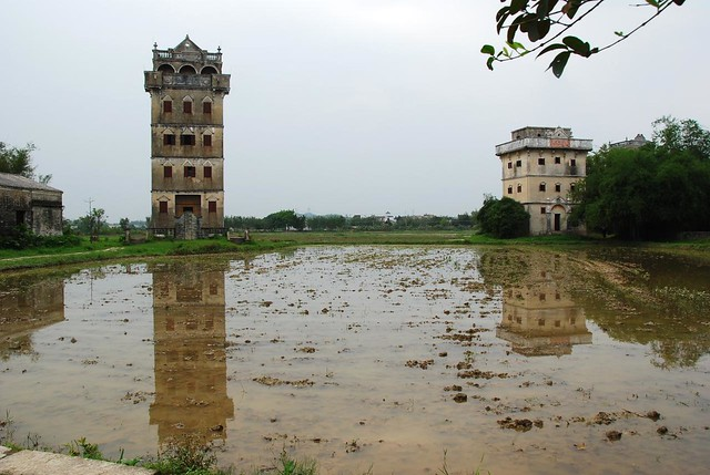 Zili Diaolou & villages 自力村 碉樓