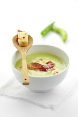 soupe pois 1