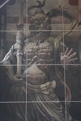 金剛力士像の阿形 Kongōrikishi