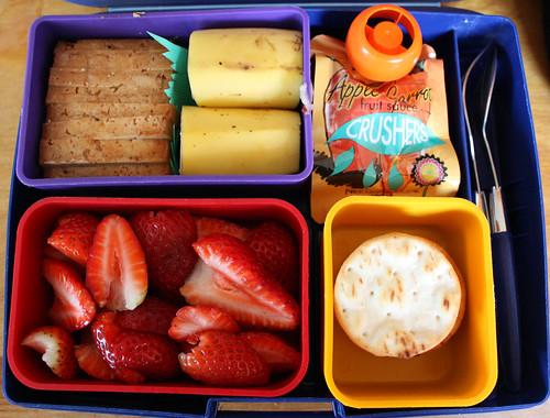 Kindergarten Bento #309: March 31, 2010