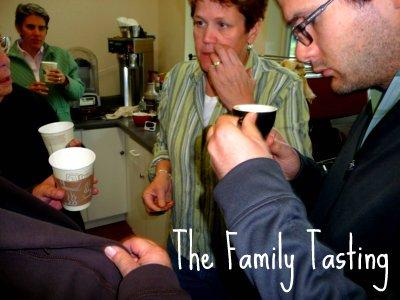 The family tasting