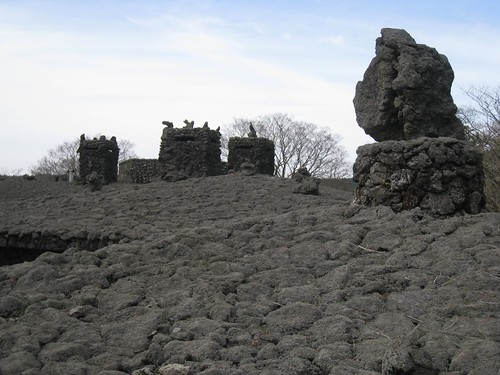 Magma rock roof