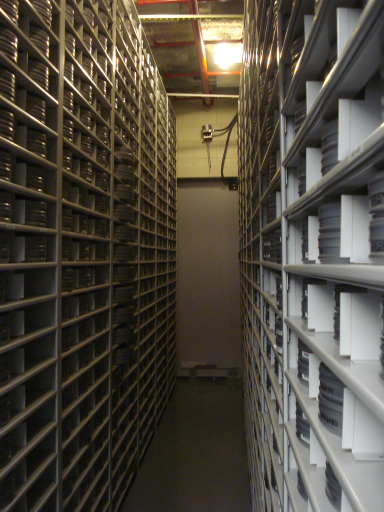 Photo-geekery: Nitrate Vault tour.