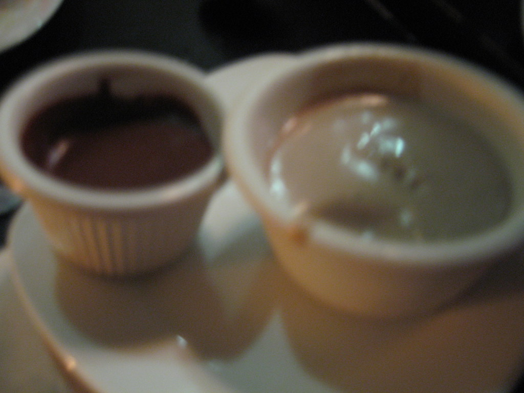 Black Pepper Milk Chocolate Ice Cream and Hot Chocolate Cream
