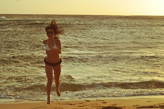 85/365 (*sarah k) Tags: sunset sun beach spring nikon break running kauai 365 d90