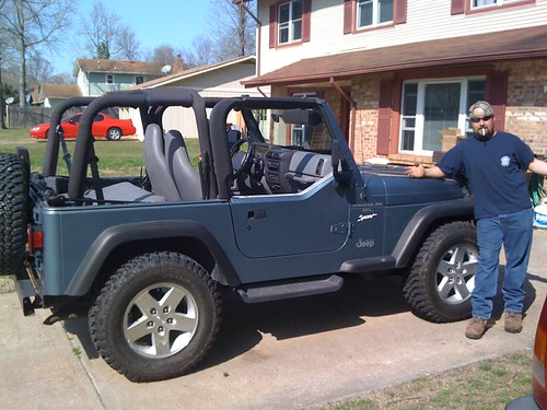 Mike Bell's 1998 Jeep Wrangler Sport 4.0L