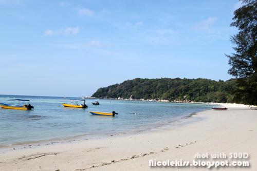 perhentian besar beach
