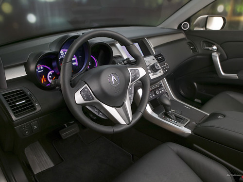 Acura RDX Silver Desktop Wallpaper SUV Interior