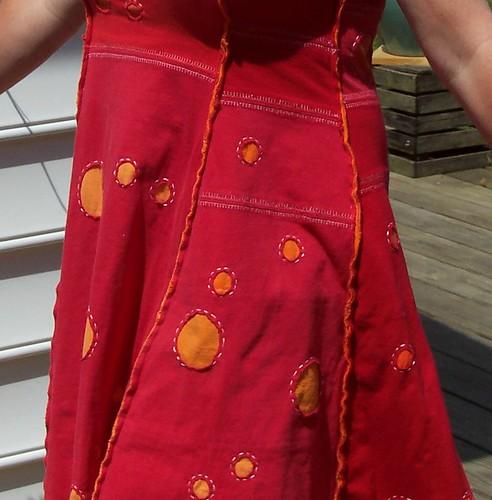 Alabama Chanin inspired dress