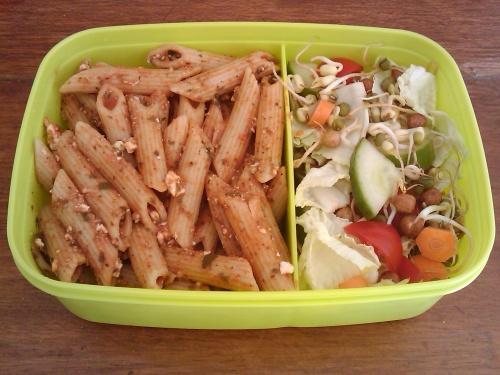 #401 - Pasta and Salad