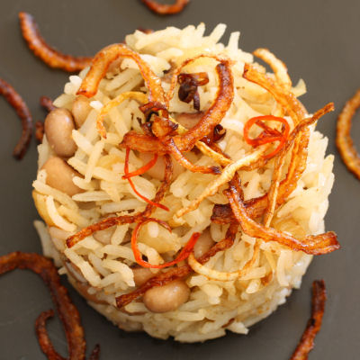Black-eyed Bean & Basmati Rice 8236 R