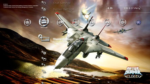 After Burner Climax - PSN Theme