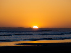 Mexican Sunset (goodbyetrouble) Tags: ocean california sunset sea sun mexico san sundown pacific baja sonne quintin mexiko