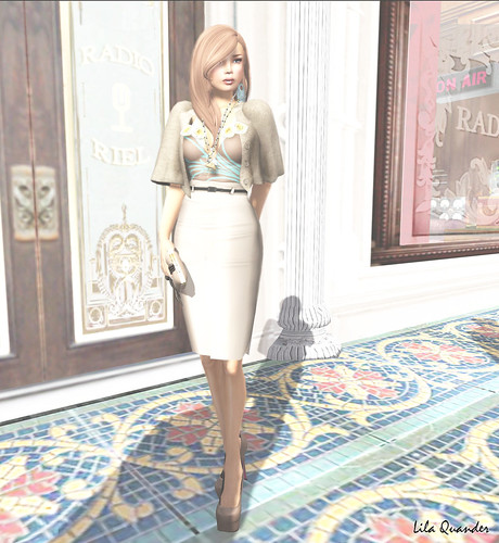 *LpD* - *Diana* Skirt - Brown & *Shy* top -Brown