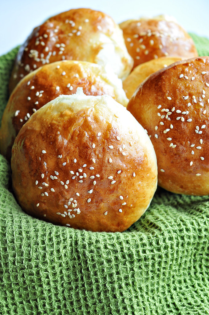 Soft White Hamburger Buns