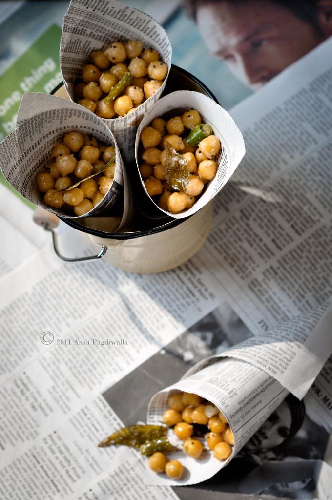 South Indian Street Food Sundal Chickpea Salad Fsk