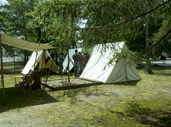 Civil War Camp in Vienna
