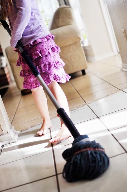 eg mopping
