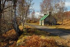 Glen Strathfarrar (Gavin MacRae) Tags: glenstrathfarrar culligran highlandcroft abandonedcroft abandonedbuilding highlandsofscotland culligranwood halfwayhouseglenstrathfarrar highlands highlandlandscape highlandnature strathglass scottishnature scottishhills scotland bothy