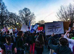 2017.02.22 ProtectTransKids Protest, Washington, DC USA 01084
