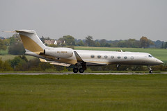 4K-MEK8 - 5204 - SW Business Aviation - Gulfstream G550 - Luton - 090501 - Steven Gray - IMG_7813