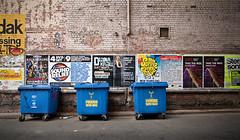 Krall (RWYoung Images) Tags: blue brick wall interface bin lane rwyoung
