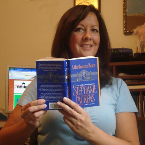 Stephanie Laurens book fan photo