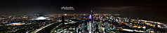 Panoramatic Night view of Kuwait City (q8phantom) Tags: new york city travel bridge blue light sunset sky urban panorama usa canada reflection building water skyline architecture modern brooklyn night america skyscraper sunrise river dark landscape lights evening harbor office big colorful downtown neon cityscape waterfront view top manhattan scenic landmark center panoramic business metropolis tall nightview lower financial metropolitan  q8