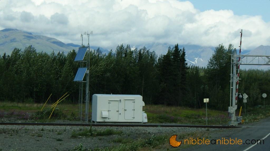 Solar Powered Railroad Crossing