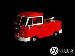 VW Bulli (pitrek02) Tags: vw town lego band reggae bulli moc lugpol