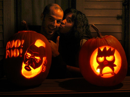 MR T and Bad Badtz Jackolanterns